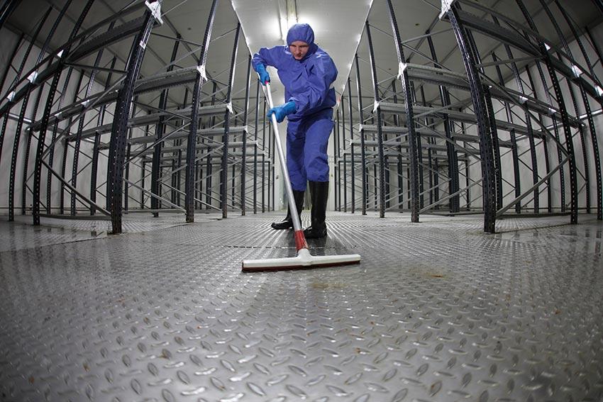 fcs καθαρισμός βιομηχανία